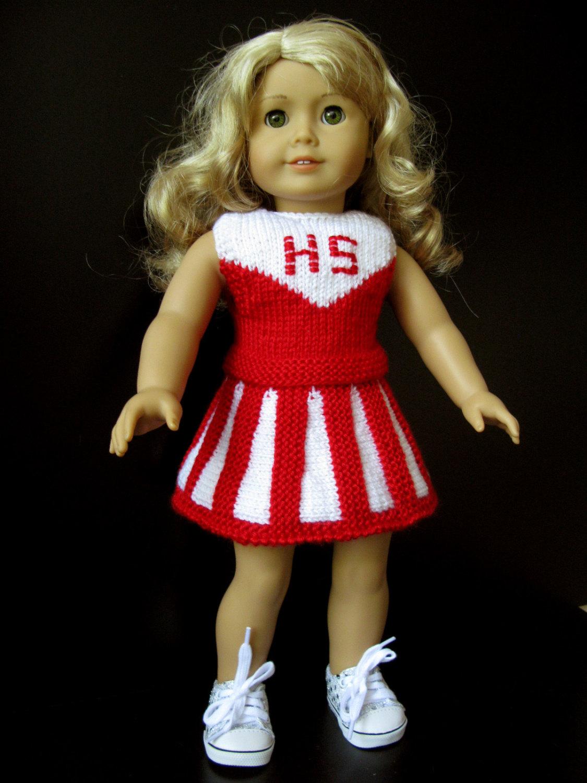 Cheerleader Doll Pattern - Knit N Play