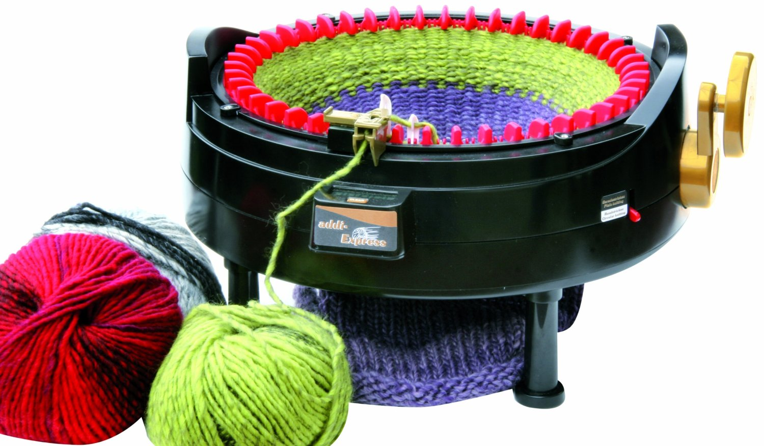 Knitting Machines : Addi express king knitting machine kit needles