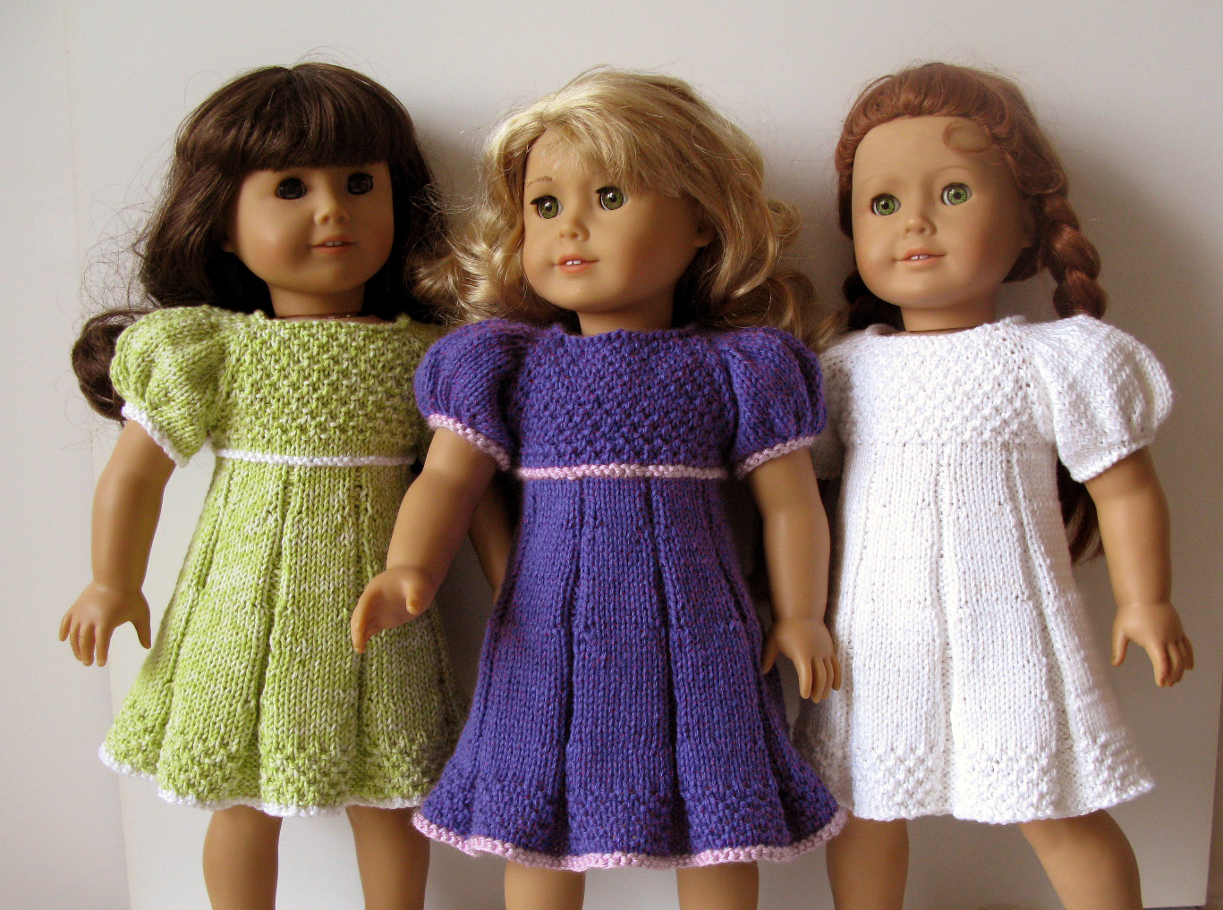 Knitting Summer Dress : Pleated summer dress knitting pattern knit n play