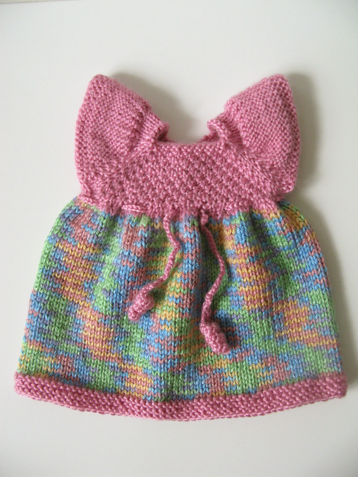Knitting Pattern Butterfly : Butterfly dress knitting pattern knit n play